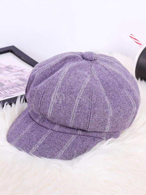 dove posso comprare grande sconto scegli l'ultima Berretto da strillone a righe Cappellino in lana da berretto da baseball  Cappello da berretto da baseball retrò