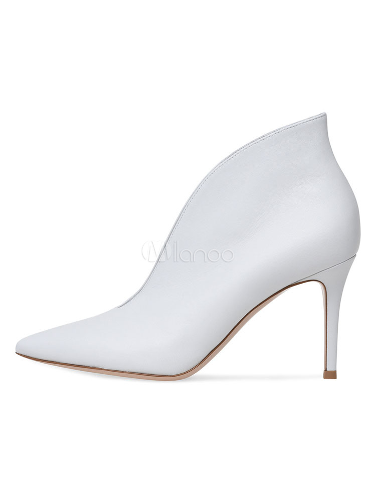1c532a3f871 ... Botines De Tacón Alto 2019 Negro Punta Puntiaguda Diseñado Botas Bajas  de Tobillo Zapatos de Vestidos ...