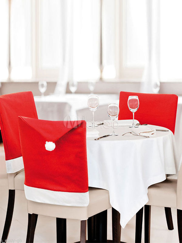 Magnificent Christmas Decorations Chair Covers Red Party Dinner Dining Xmas Accessories Halloween Caraccident5 Cool Chair Designs And Ideas Caraccident5Info