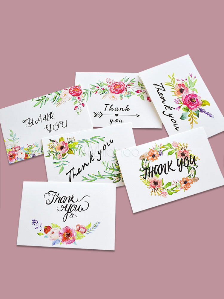 Christmas Card Printing.Thank You Cards Paper Flower Printed Thanksgiving New Year Christmas Cards 6x4 Halloween