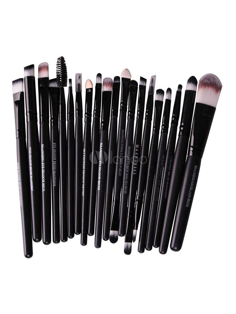Black Makeup Brush Sets Women Professional Makeup Brush Kits-No.1 ... 1f3a3a7fe