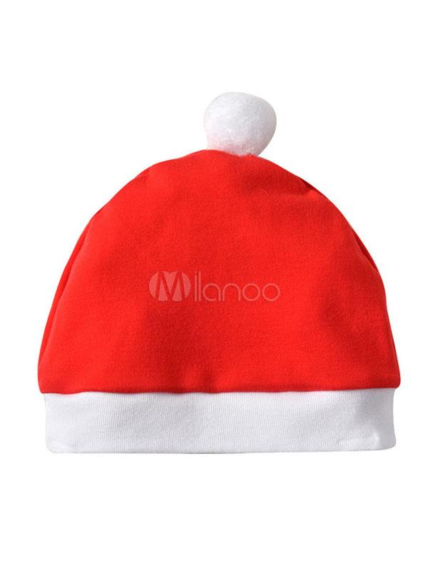 ff22c2eb6fa15 赤ちゃんのクリスマスパジャマは、帽子を持つ子供の服を着た - Milanoo.jp