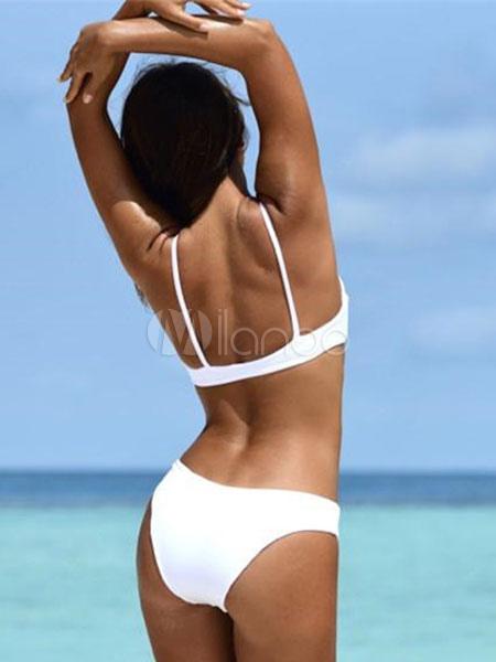 8bba193aa022 ... Costume da bagno bikini sexy push up costume da bagno da spiaggia per  le donne- ...
