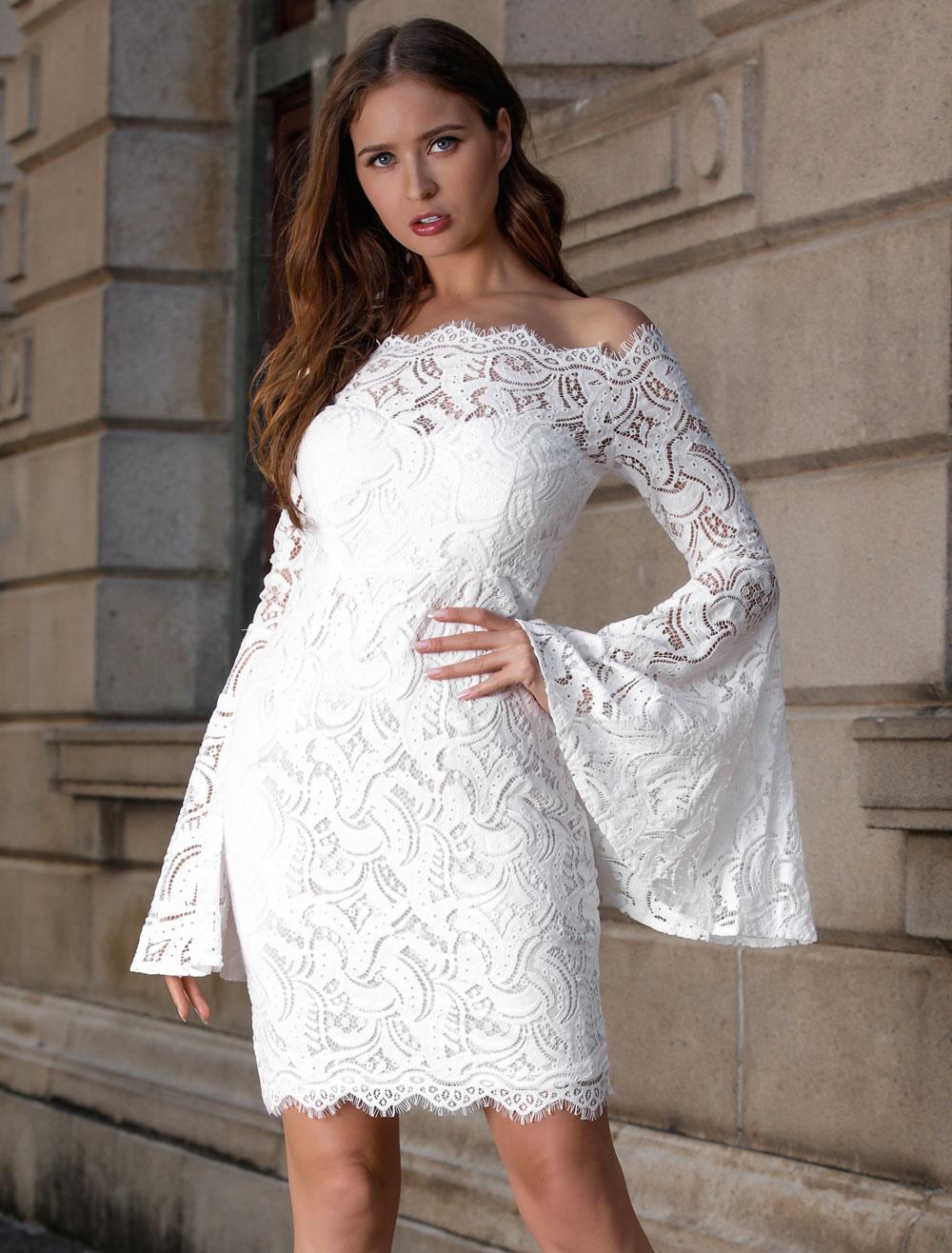 f08730de93 Acheter les Robes en dentelle pour femmes en ligne | Milanoo.com