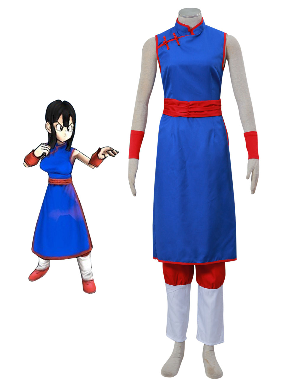 Dragon Ball Chi Chi Cosplay Costume Halloween