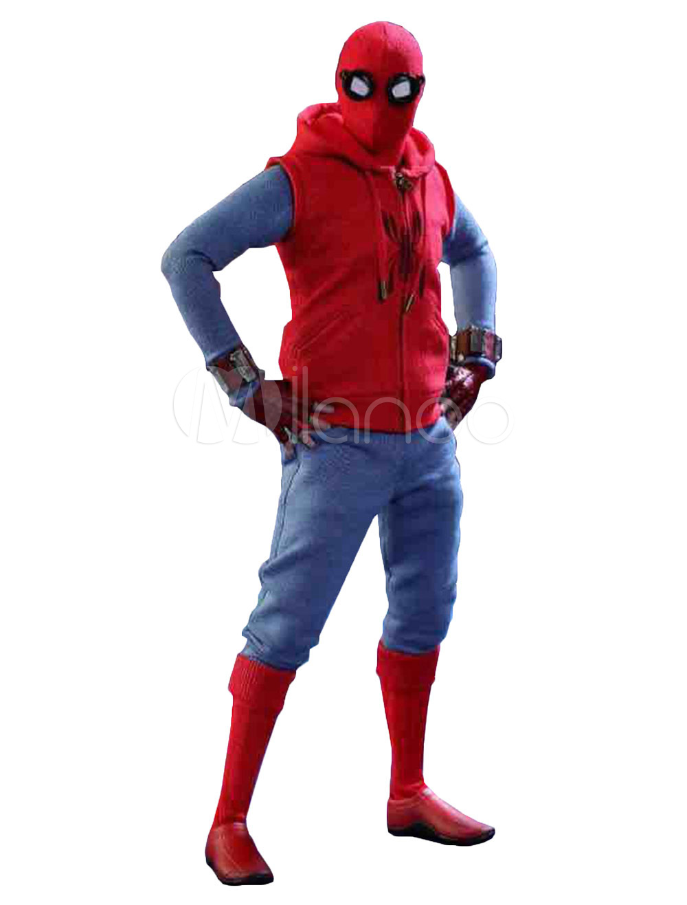 Spiderman Homecoming Marvel Comics Cosplay Costume Halloween-No.1 ...  sc 1 st  Milanoo.com : spiderman costume ireland  - Germanpascual.Com