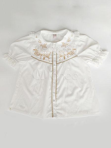 Buy Sweet Lolita Shirt Sweet Infanta Lolita Rose Garden Blouse Top for $36.99 in Milanoo store
