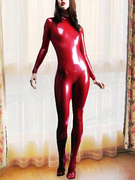 latex catwoman suit