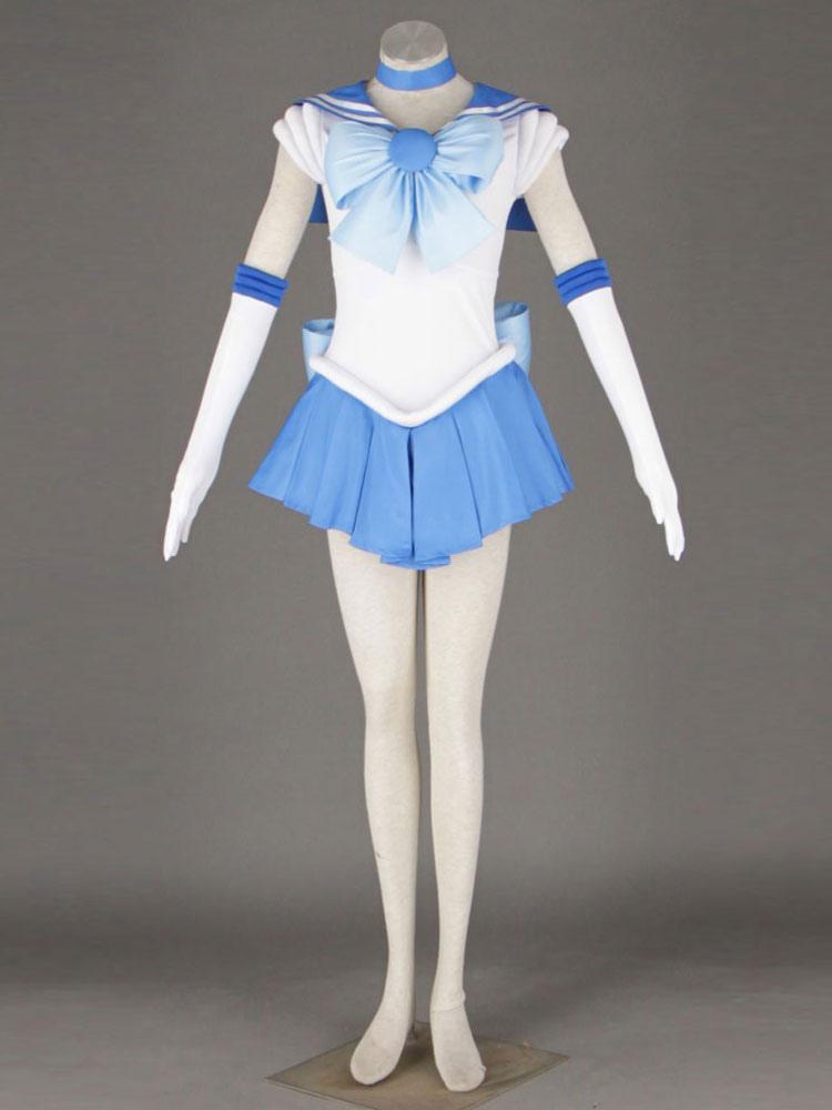 karneval sailor moon sailor merkur halloween kost m mizuno ami halloween. Black Bedroom Furniture Sets. Home Design Ideas