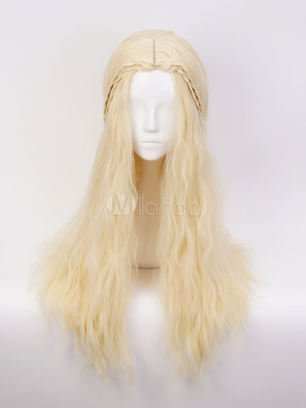 Game Of Thrones Daenerys Targaryen Cosplay Wig Halloween