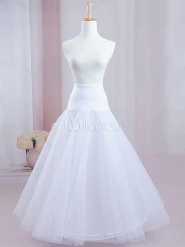 Buy Quality Two-Tier Net Great A-Line Slip Bridal Wedding Petticoat for $27.63 in Milanoo store