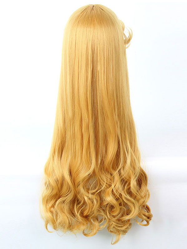 Disney Sleeping Beauty Aurora Princess Cosplay Wig Halloween