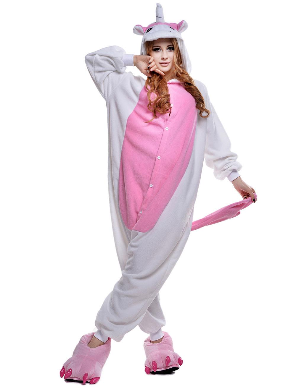 lusso prodotto caldo nuovo stile e lusso Kigurumi Pigiama Licorne Unicorno Tutina Per Costume Carnevale Adulto