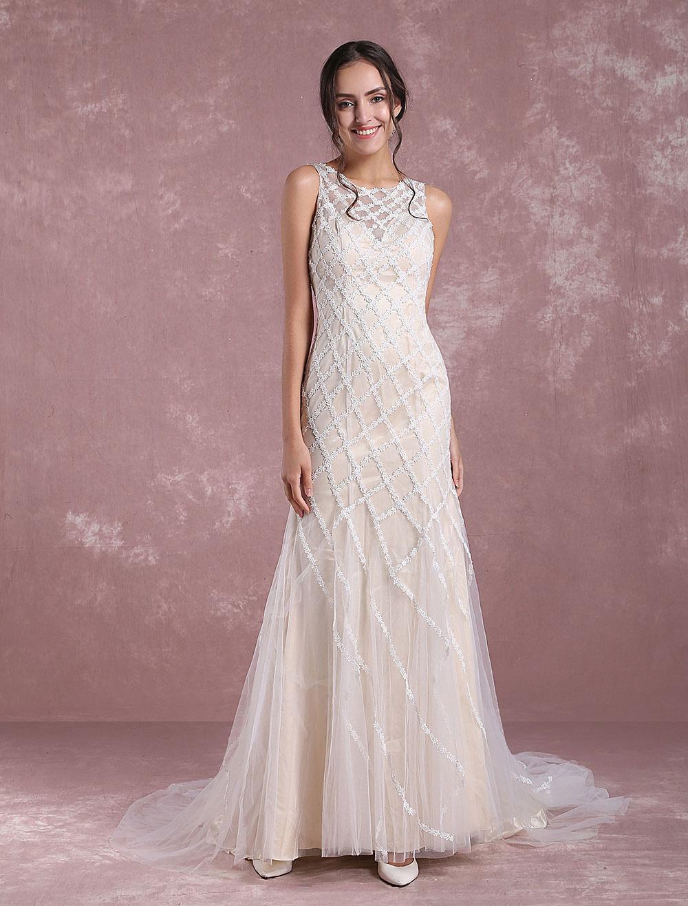 Vestidos de novia verano 2019