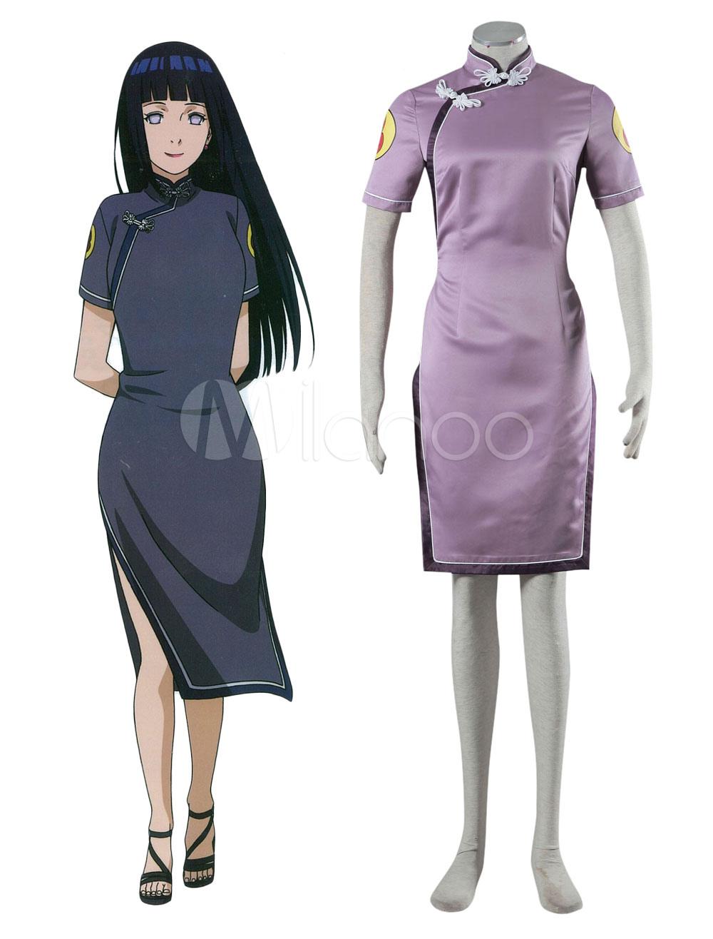 Naruto Hinata Hyuga Cosplay Costume Chinese Style Costume Halloween