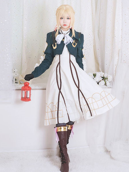 Violet Evergarden Kyoto Anime Halloween Cosplay Costume