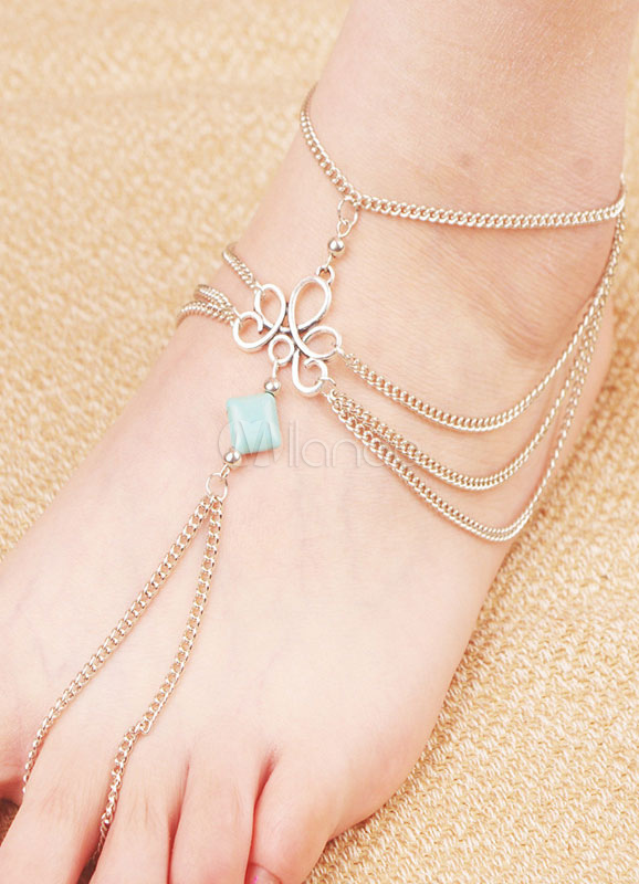 Buy Layered Tophus Bohemian Anklets for $2.75 in Milanoo store