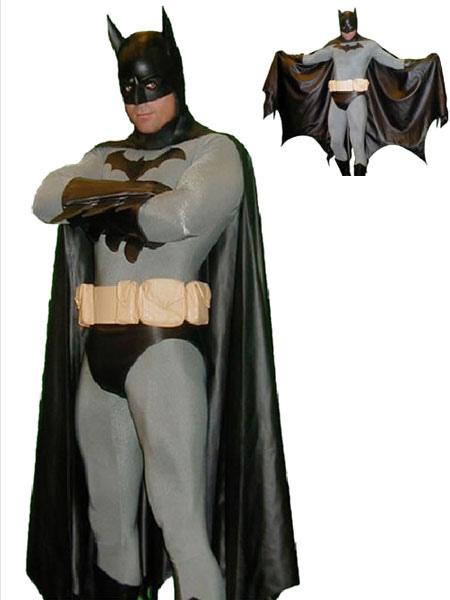 Halloween Batman Zentai Catsuit Costume Lycra Spandex Suit