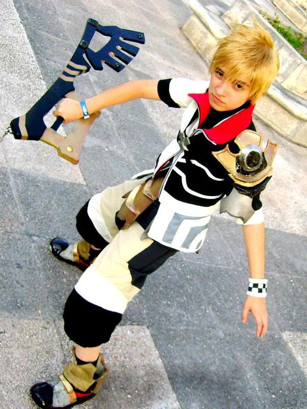 Kingdom Hearts Ventus Cosplay Kostüm Halloween - Milanoo.com