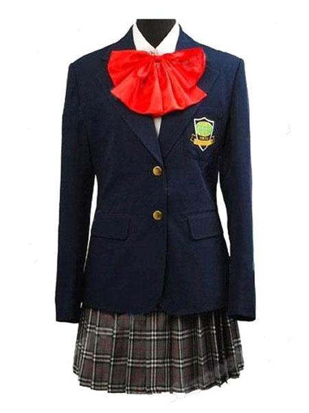 d9eac478c3 Kill Bill Gogo Yubari Japanese School Girl Cosplay Costume Halloween-No.1  ...