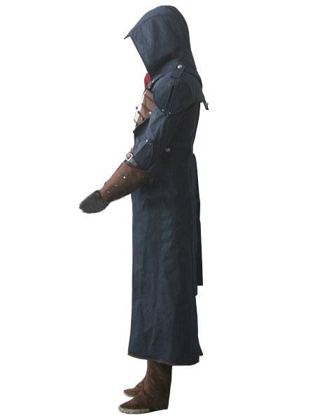 Inspired By Assassin's Creed Unity Arno Victor Dorian Halloween Cosplay  Costume Dark Navy Suit Halloween