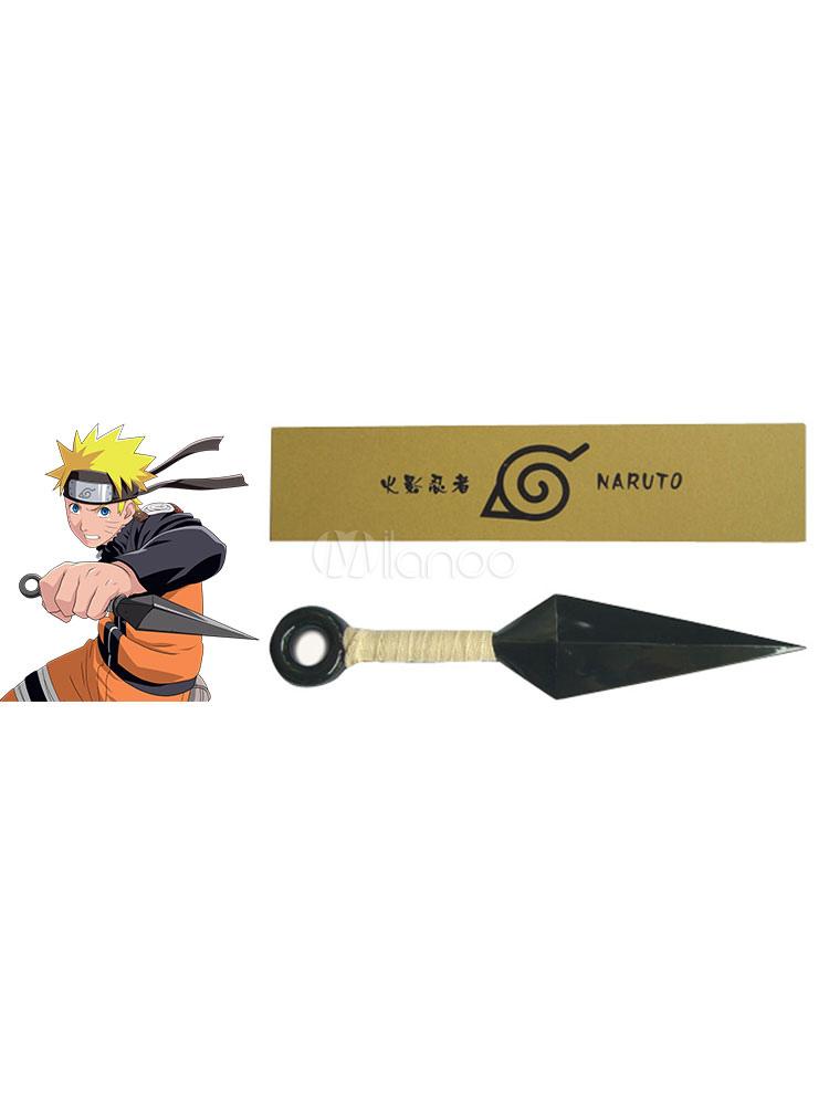 Naruto Ninja Kunai Knife Halloween Cosplay Prop
