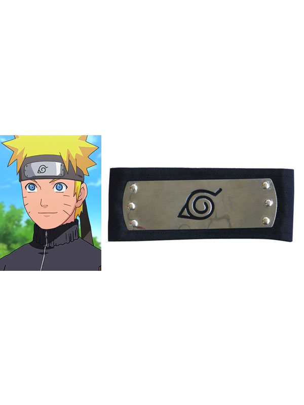 Buy Naruto Ninja Leaf Village Headband Black Cosplay for $3.59 in Milanoo store