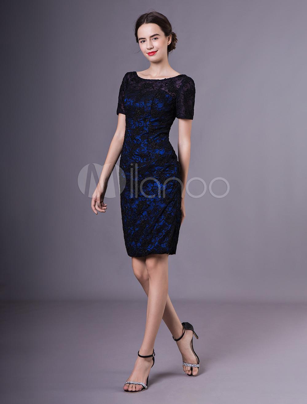 3ef79fc77d1 Tailor Made Jewel Neck Sheath Lace Embellishment Mother Of Bride ...