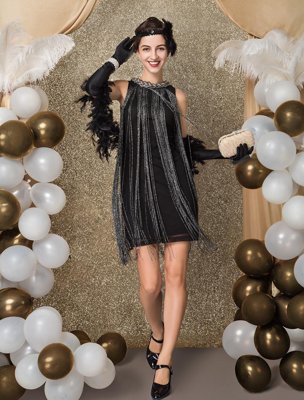 Gatsby Dress Costume 1920s Fler Vintage Tels