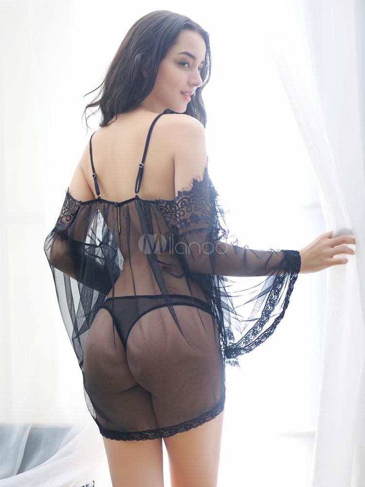 Venta mini vestidos transparentes
