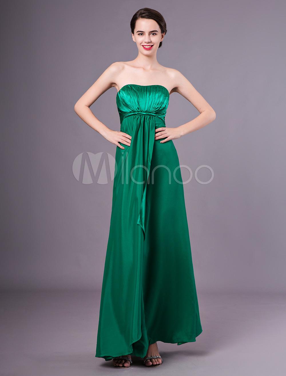 Etui brautjungfernkleid in dunkelgr n kleider f r - Kleider milanoo ...