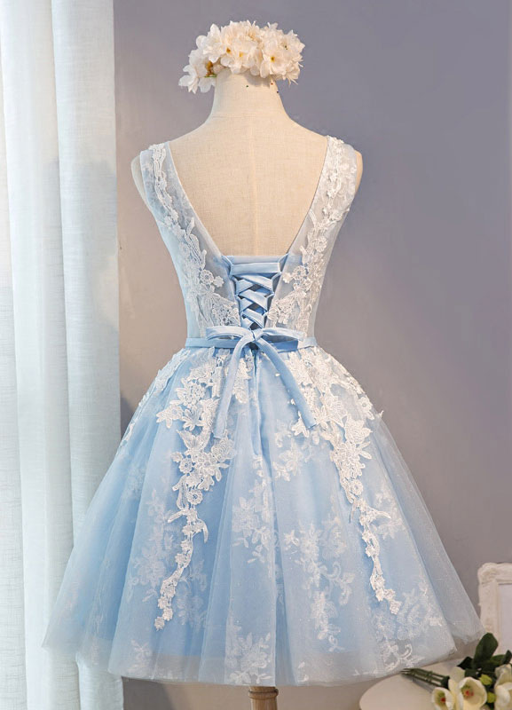 Vestidos de 15 azul 2019