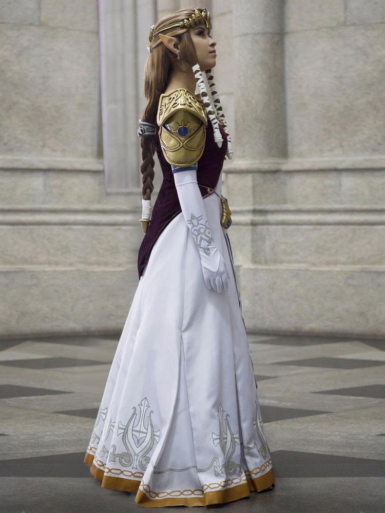 Zelda Wedding Dress.The Legend Of Zelda Twilight Princess Halloween Cosplay Costume Halloween