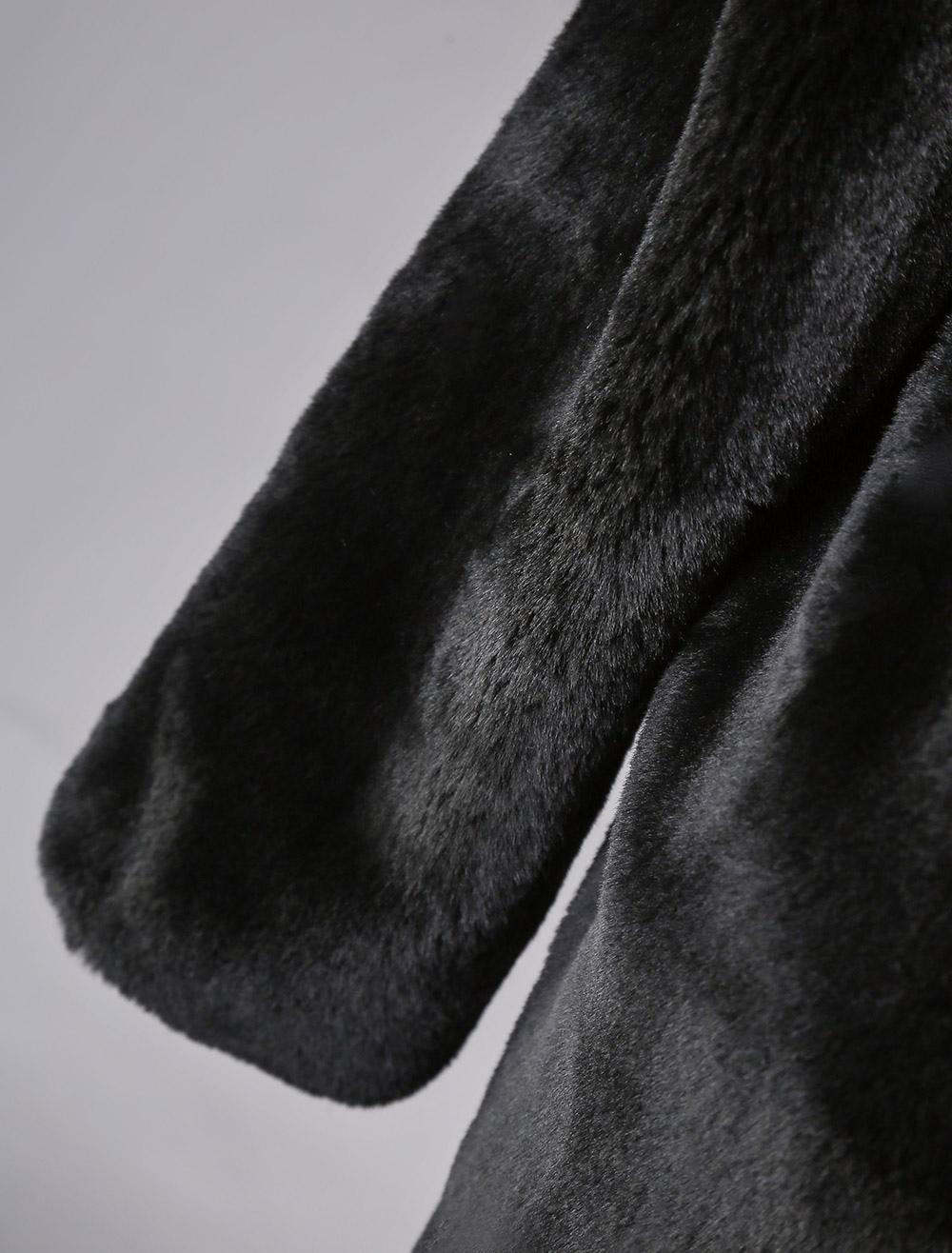 ... Chaquetas de lana artificia de mujer 2019 abrigo blanco con capucha de manga  larga corta invierno ... 967c3be0f34e