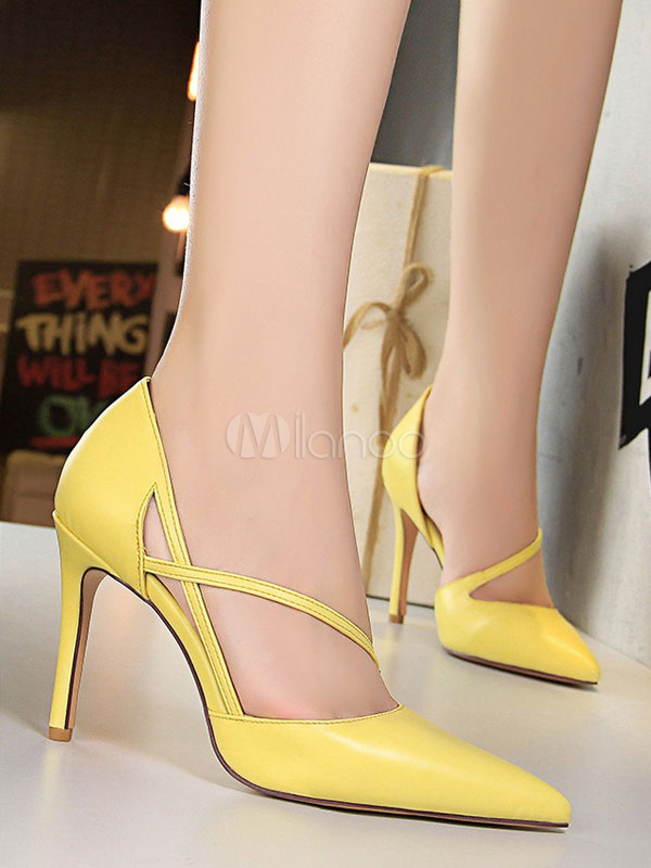 30b7c962866 ... Zapatos de vestir de tacón alto con tacones en punta para mujer Zapatos  de vestir- ...