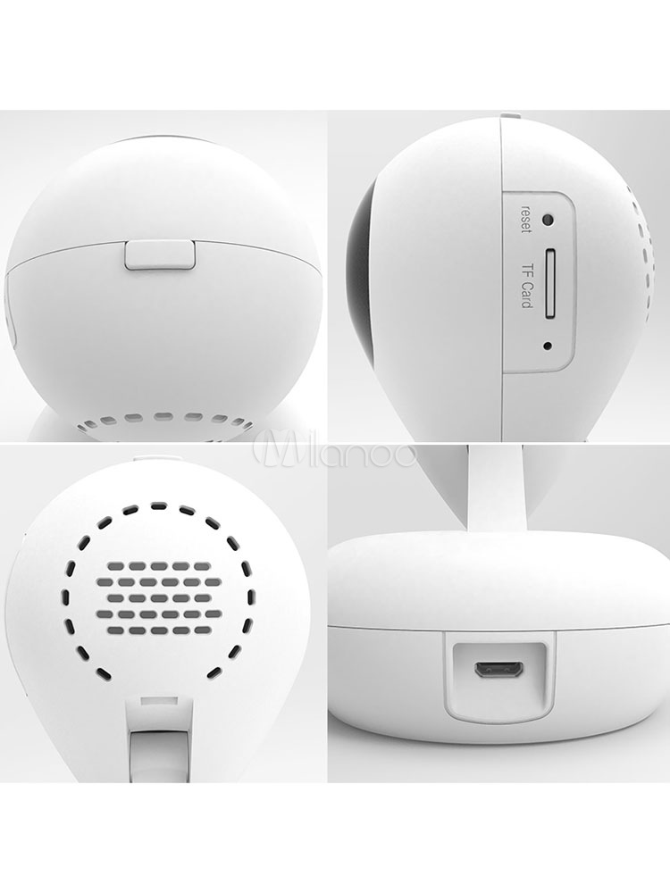 Wireless IP Camera 360° Panoramic Two Way Voice Call 10 IR Balls HD 1080P  Portable Smart Home Camera