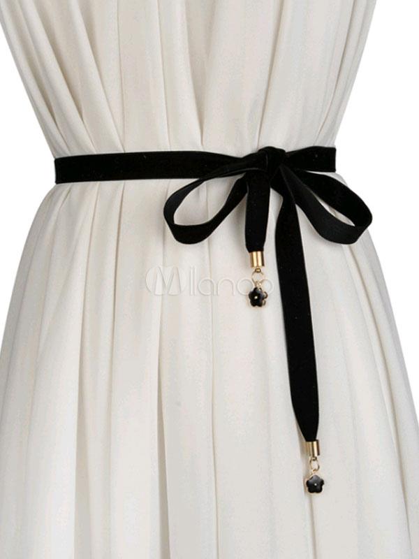 0153d41c8fcd0 Satin Sash Ceinture Mariage Mariée Femme Robe Accessoires - Milanoo.com