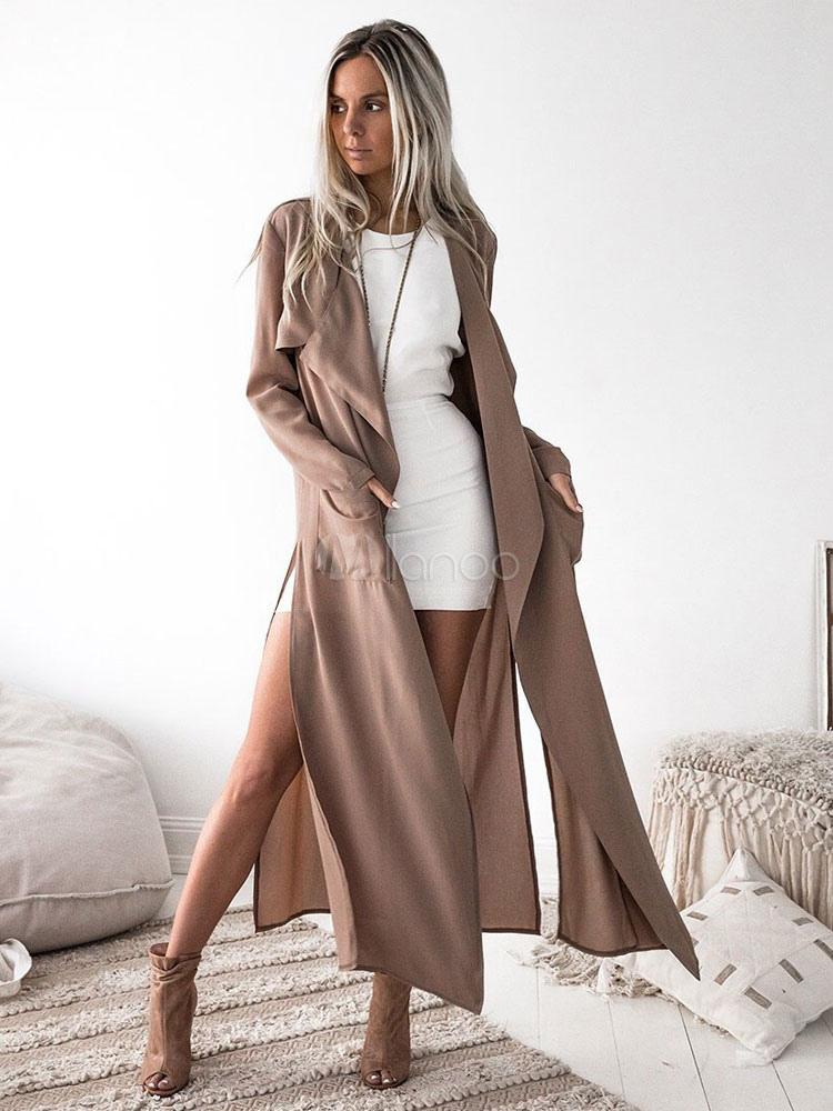 a737ab04f3e45f Manteau Femme 2019 | Vestes, Blazers, Cardigans | Milanoo.com
