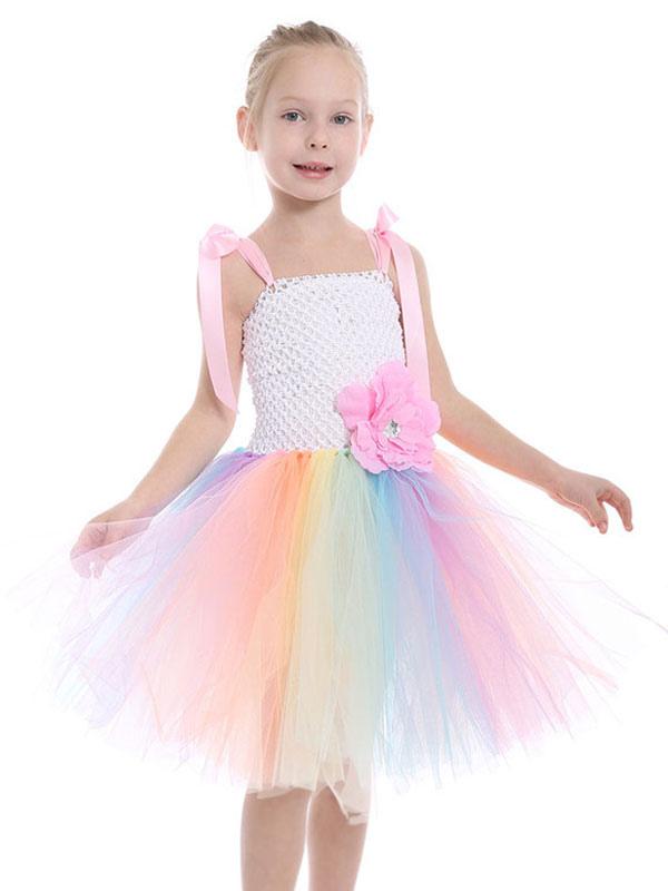 Toddler Girls Kid Princess Dress Party Costume Ballet Tutu Fancy Dress Up+Ears