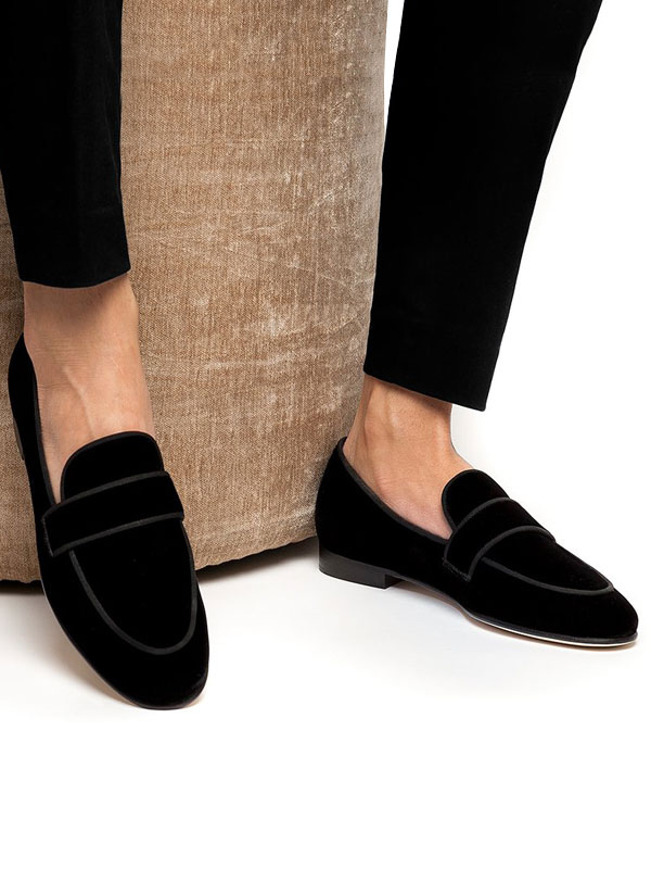 black loafers prom