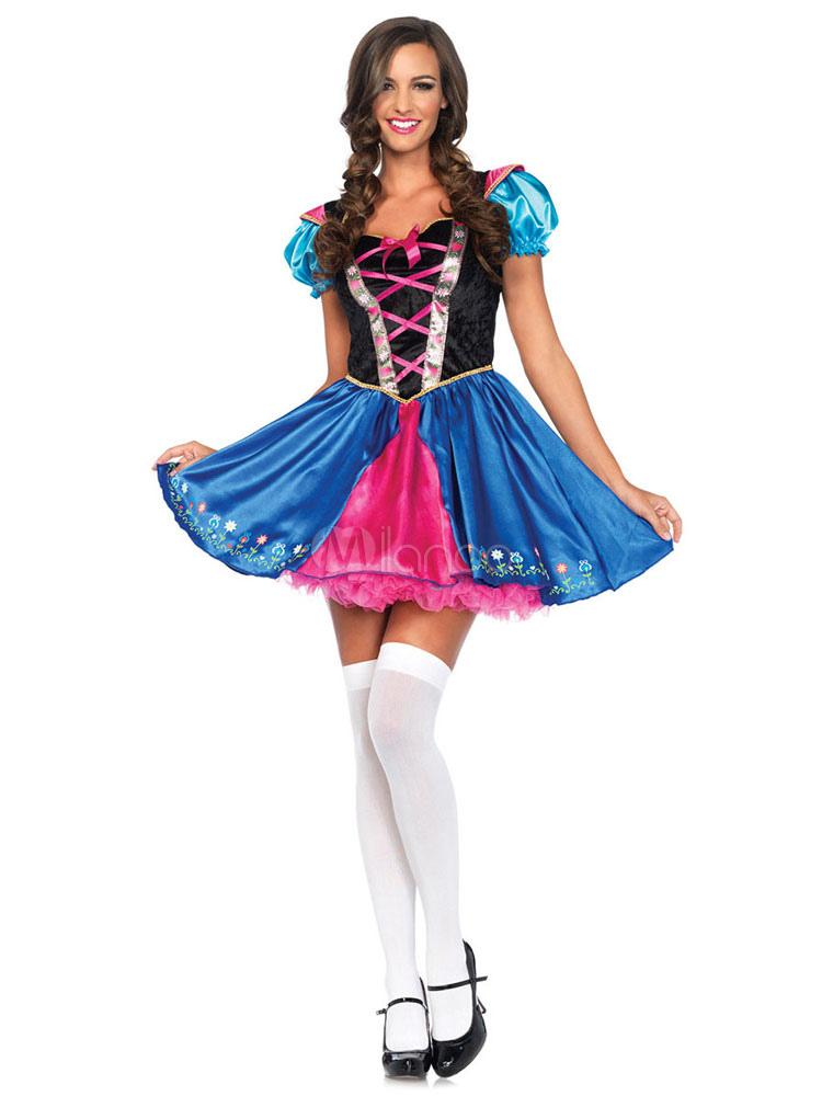 ultimi progetti diversificati come ottenere comprare bene Costume Carnevale Frozen Princess Anna Alpine Costume Halloween ...