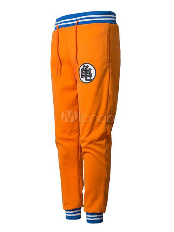 d94106b7 Мужские спортивные штаны с драконьим принтом в полоску из хлопка-No.1 ...