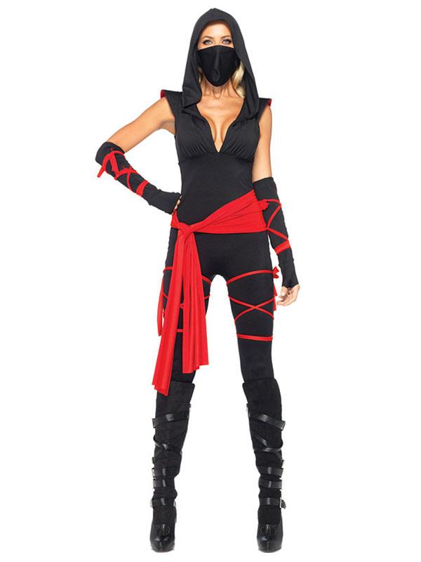 Ninja Costume Women Sexy Mortal Combat Halloween Costume Milanoo Com