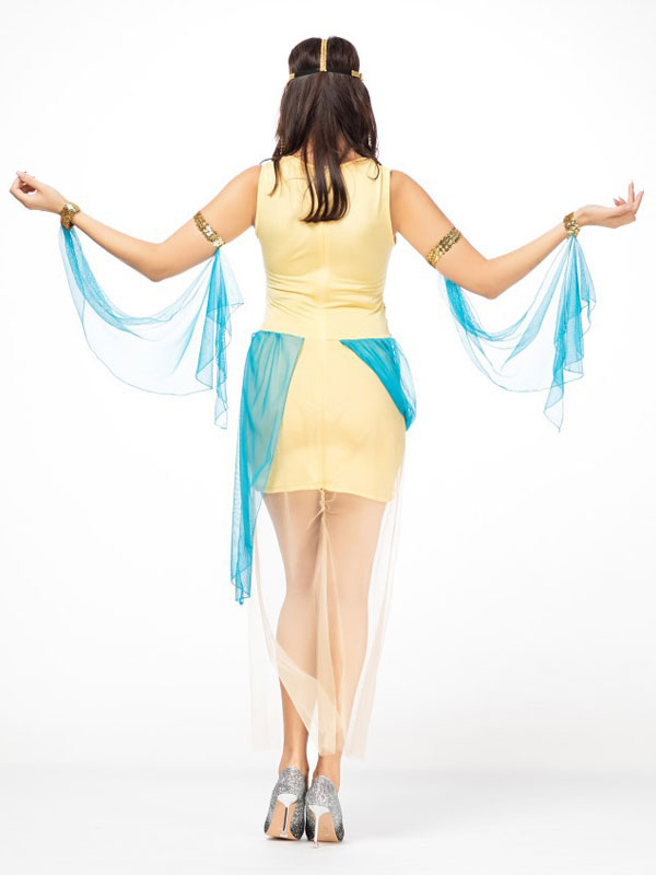 e4c54efcd067 ... Outfit di abiti corti gialli di Halloween Costume Halloween Women-No.5