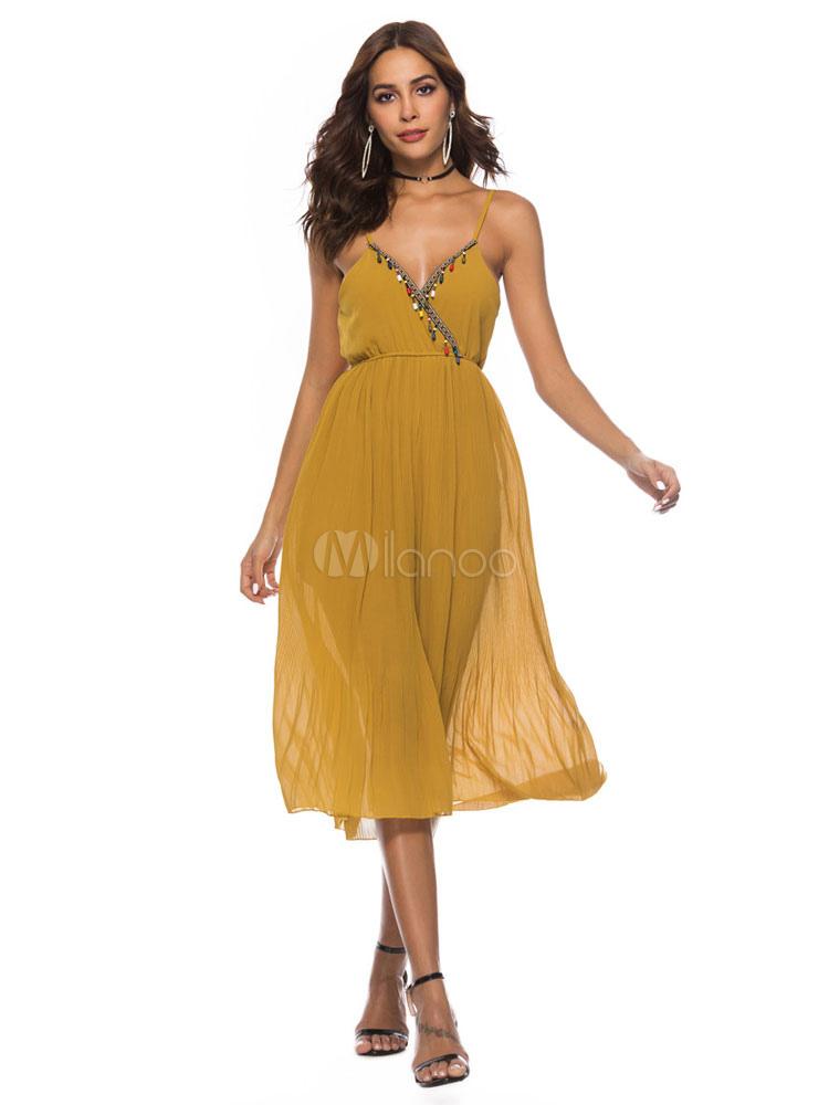 440156d020 Wide Leg Romper Women Beaded Sleeveless Summer Playsuit - Milanoo.com