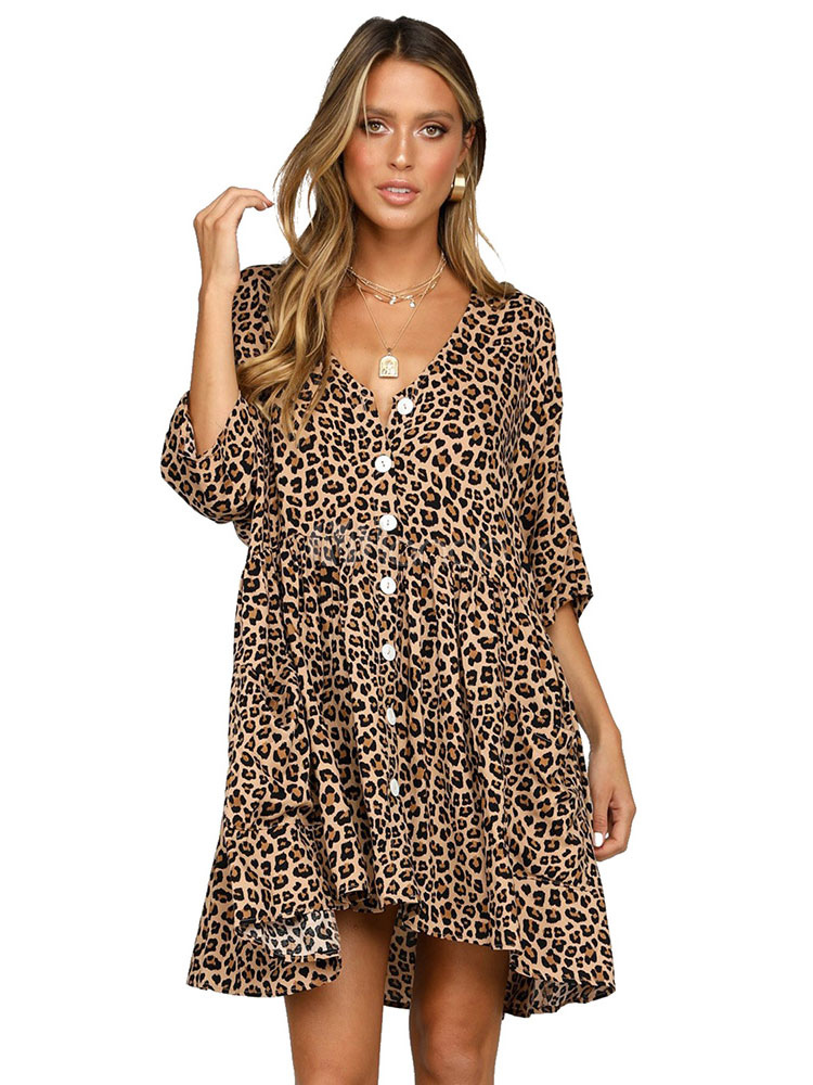 Леопардовое Платье 2021