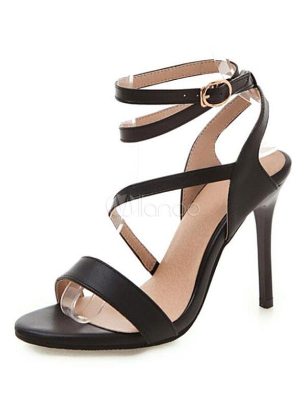 Sandalo Nero Sandalo Fibbia Con Nero Con Sandalo Fibbia Nero Sandalo Con Nero Con Fibbia N8mwnO0v