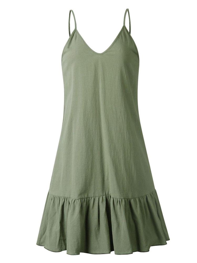 69629d642e9277a ... Свободное летнее платье белое пляжное платье с рюшами женское платье  слип-No.7 ...
