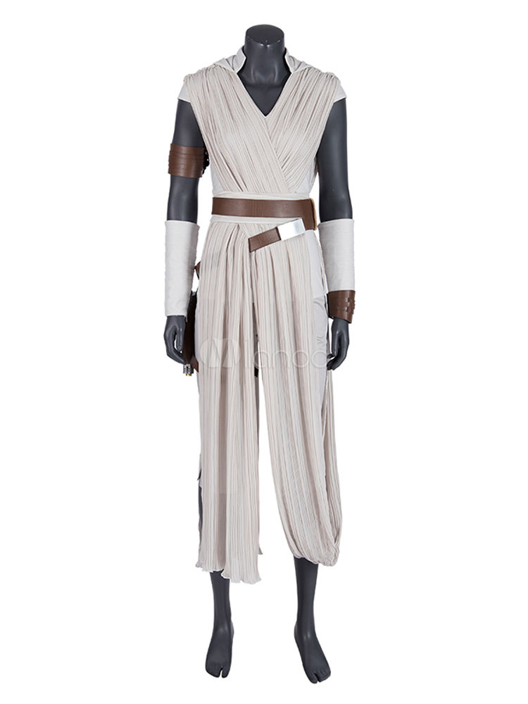 Star Wars Cosplay The Rise Of Skywalker Film Rey Cosplay Outfit Chiffon Cosplay Costumes Milanoo Com
