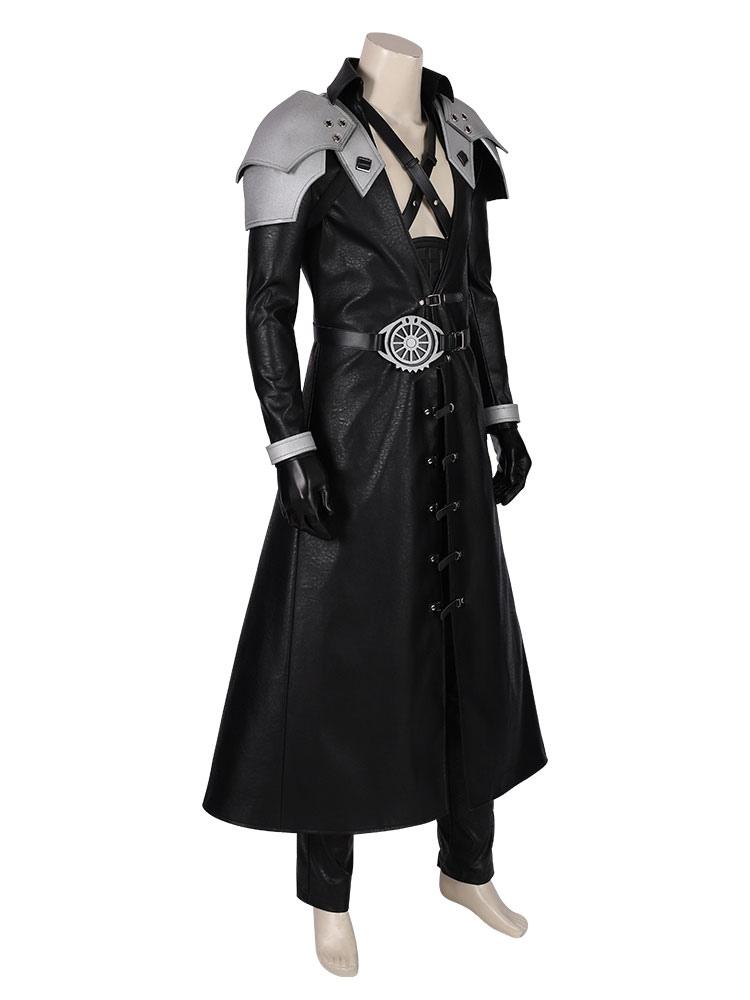 Final Fantasy Cosplay Sephiroth Ff Vii Remake Costumes Black Sephiroth Game Cosplay Costumes